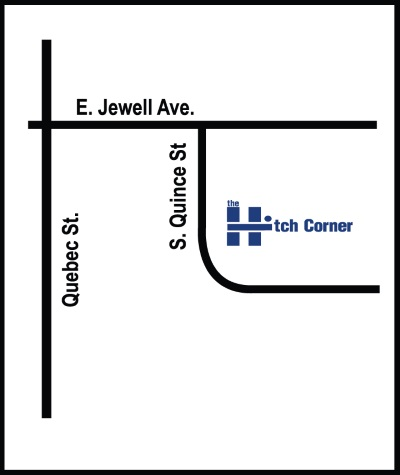 Map Directions For Hitch Corner Denver Littleton Colorado