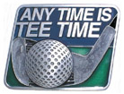 Any Time is Tee Time Hitch Cover