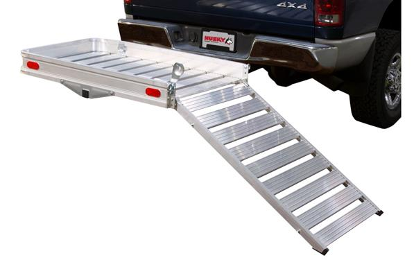 Husky Aluminum Mobility Carrier Ramp Down