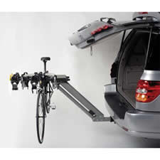 Softride Dura 4 Bike Rack on Vehicle