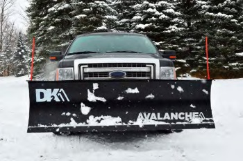 K2 Avalanche Snowplow on Truck