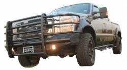 Ranch Hand Legend Front Bumper With Grill Guard & Hitch